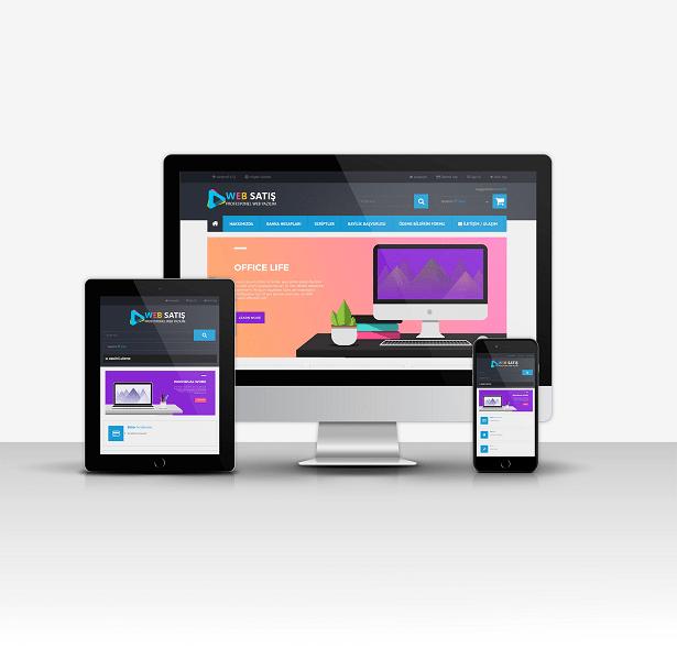 Web Satış Sitesi