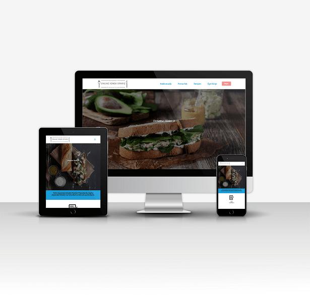 Online Yemek Siparişi ve Restuarant Sitesi V1