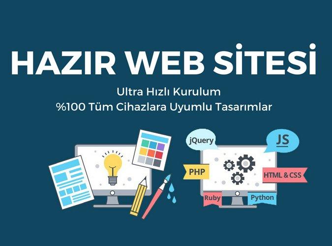 Hazır Site, Hazır Web Sitesi, Hazır İnternet Sitesi